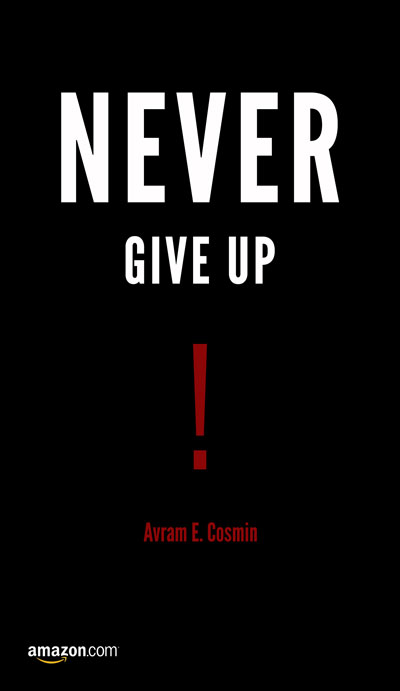 Never Give Up! - Avram E. Cosmin